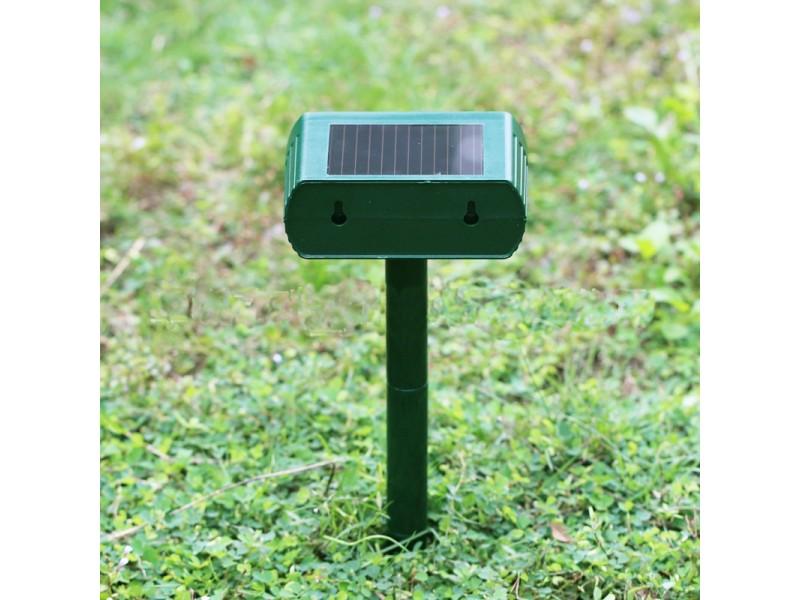 Антикрот на солнечных батареях
