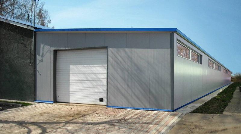 Сборные гаражи