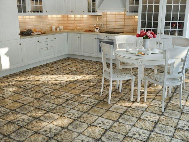 кухонный пол