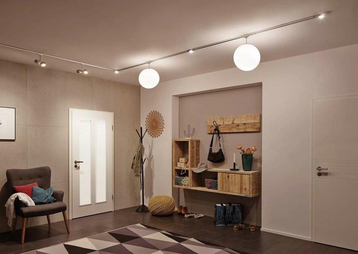 Правильное освещение в квартире.