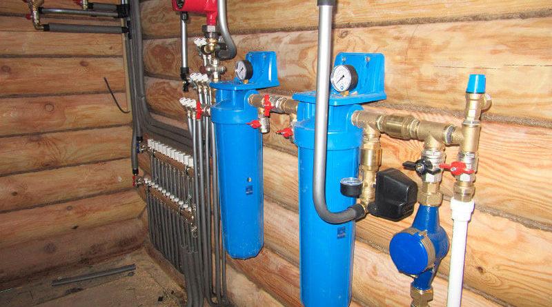 провести воду и канализацию в частный дом